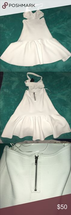 GUESS Cut Out Dress Good condition! NWT, never worn. Beautiful, really. Wish it fit. Guess Dresses Mini