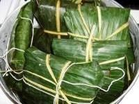 Nacatamales, are popular steamed corncakes from Nicaragua and Honduras. They are similar to Mexican tamales but are larger, filled with meat and vegetables and steamed in banana leaves. Nacatamales are special occasion food and are most often served as a Sunday morning meal or at Christmas, weddings and other large celebrations
