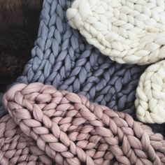Welcombe Chunky Hand Knitted Throw                                                                                                                                                      More