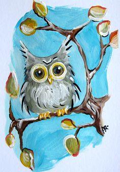 """""""Fall Foliage Hoot Owl"""" par Into The Blue"""