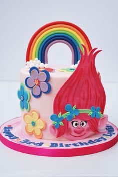 Princess Poppy, Trolls cake