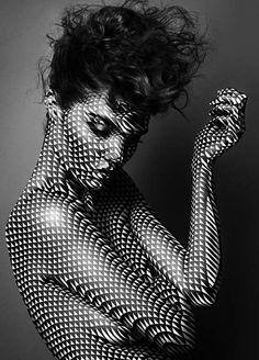 Body Makeup+Hair=Art