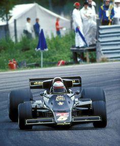 F1 Lotus - Mario Andretti - Sweden GP 1976