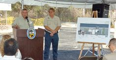 County breaks ground on new welcome center