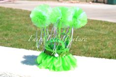 TinkerBell Inspired Fairy Tulle Wands  Party by FairyTotesCouture, $28.50
