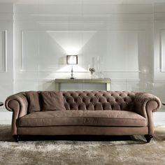 Wohnzimmer Sofa Design Innenarchitektur Chesterfield Einrichten Wohnen Modern