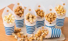 popcorn packaging cute!