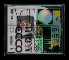 Oneohtrix Point Never reveals full artwork for Age Of (out June Warp Records) Graphic Design Posters, Graphic Design Typography, Graphic Design Inspiration, Typography Inspiration, Cd Packaging, Packaging Design, Music Covers, Album Covers, David Rudnick