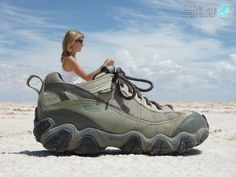 You can't go to Bolivia without...  Kim in shoe, Salt Flats Bolivia http://timeasatraveller.com/salt-flats-uyuni-bolivia/