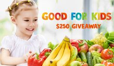 We are GOOD FOR KIDS and we are preparing to launch a super fun campaign to inspire children to eat healthy! Sign up for a chance to WIN and get a sneak peak at what's coming! 💙