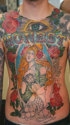 some serious ink. Marcus Kuhn