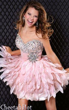 JOVANI - Authentic Designer Dress - Short Strapless Cocktail Dress