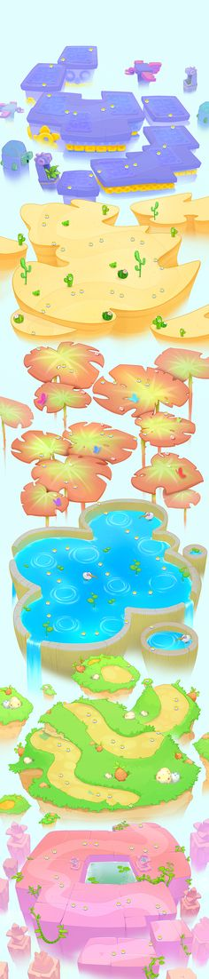 Bubble flower miracle on Behance