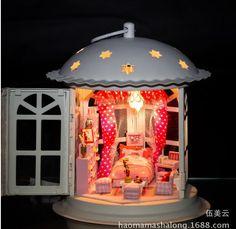 Cadeau d'anniversaire et 2014 nouvelle échelle modèle métal maison   bricolage chambre, Assemblée métal Dome maison Toy avec des meubles miniatures A440 dans Kits de construction de maquettes de Jouets & loisirs sur AliExpress.com | Alibaba Group