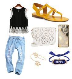 """""""Female outfit #4"""" by rosegomezhipolito on Polyvore featuring Franco Sarto, Under One Sky, Miss Selfridge, Shourouk and Skinnydip"""