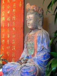 Beautiful Blue Kuan Yin