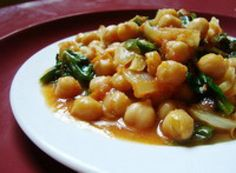 Top 10 Vegetarian Recipes of 2010: Chana Masala - Indian chickpeas with spinach