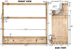 Woodworking plan for Bookshelf. Complete woodworking plans with detail descriptions can be found on my website: www.tedswoodworkplans.com