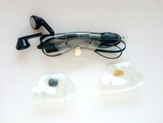 Headphone organizer Clip Cord organizer USB cord by YPSILONBAGS