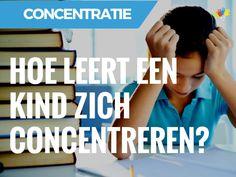 hoe-leert-een-kind-zich-concentreren Adhd, Cool Kids, Coaching, Study, Classroom, Slim, Train, Yoga, Education