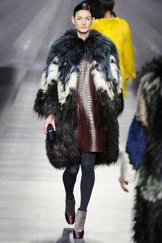 14e54d9c5dd Karl Lagerfeld played mix master for Fall 2012 Fendi