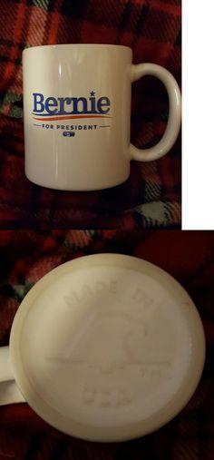 Bernie Sanders: 2016 Bernie Sanders For President Ceramic Coffee Mug! Made In Usa! -> BUY IT NOW ONLY: $14.99 on eBay!