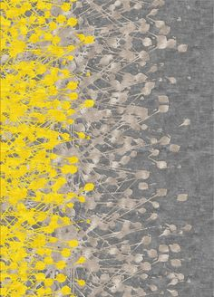Gray and yellow grey yellow, yellow rug, yellow carpet, grey carpet, color Grey Yellow, Mellow Yellow, Yellow Rugs, Yellow Carpet, Black Carpet, Color Yellow, Color Black, Textures Patterns, Print Patterns