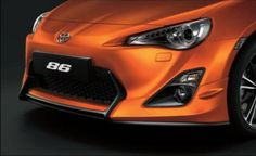 Front end of the Toyota 86