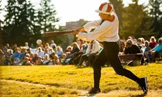 guardian:  Hipsters at home plate Base ball the original game from which todays modern version evolved is on the rise. Part sport part historical re-enactment the bare bones activity with baggier clothes and more basic equipment has found a younger generation of players in Americas South.