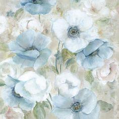 Portfolio Canvas Decor Carol Robinson 'Pastel Garden I' Framed Canvas Wall Art | Overstock.com Shopping - The Best Deals on Canvas