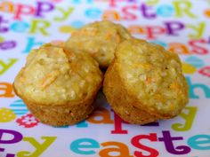 Carrot Apple Coconut Muffins on Weelicious