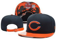 NFL Chicago Bears New Era 9Fifty Strapback Hats Brim Smooth skin Hats|only US$8.90,please follow me to pick up couopons.
