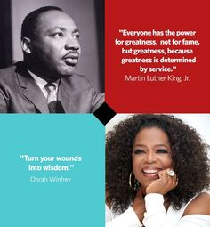 In honor of Black History Month, we've put together a list of 20 memorable quotes from prominent African Americans—both past and present. Le...