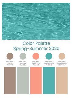 Coral Colour Palette, Summer Color Palettes, Pantone Colour Palettes, Color Schemes Colour Palettes, Spring Color Palette, Pantone Color, Color Trends, Summer Colors, Coral Color Schemes