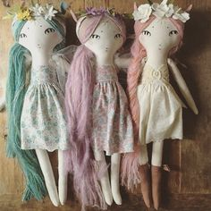 For those of you waiting on custom dolls - never fear!! I will list your deposit spots next week. AND I have a couple darling friends that have agreed to do a little sewing for me... so that means you won't have to wait quite as long!! Yay! Thanks for your patience!  #forestcreaturedolls