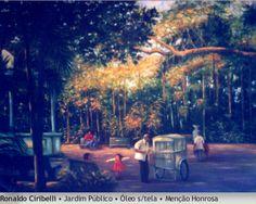 Jardim público - Ronaldo Ciribelli - 2003. Imagem do acervo do APHRC