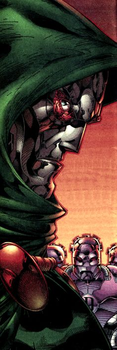 Dr Doom by Jim Lee