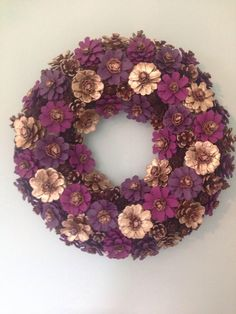 A personal favourite from my Etsy shop https://www.etsy.com/uk/listing/537362445/handcrafted-pinecone-wreath-suitable-for