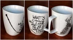 Thank you for eating.: DIY Harry Potter Mugs + Gewinner
