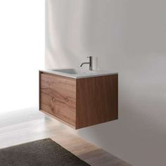 45 Degree 35.5-Inch Wall-Mounted Vanity