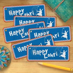 Happy Lohri Favour Tags Gift Tags Instant by KushiyaDesigns Lohri Greetings, Happy Lohri, Sikh Quotes, Custom Tags, Gift Tags Printable, Sale 50, Favor Tags, I Am Happy, Price Drop