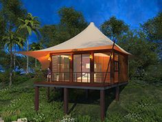Total solution for Luxury Glamping Tent Resort. BDiR Inc design, manufacturing and installation glamping tent, luxury camping tents, glamping resorts and so on. Luxury Glamping, Luxury Tents, Camping Glamping, Arabian Tent, Casa Petra, Tent Room, Thermal Comfort, Rooftop Lounge, Tent Design