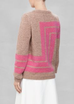 Fuzzy Stripe Sweater & Other Stories