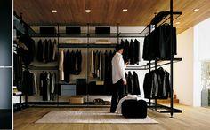 Foto's inloopkasten, kastenkamers, walk-in closets