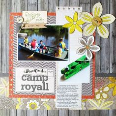 Camp layout by Kathy