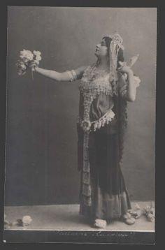 Geltzer Russian Ballet Star Belly Dancer Salambo Photo