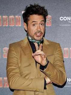 RDJ, Iron Man 3 Tour Munich Press Conference and photocall April 12, 2013