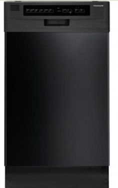 Frigidaire FFBD1821MB 18 Built-In Dishwasher - Black ** More info could be found at the image url.