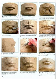 mouth sculptures how - Google 検索