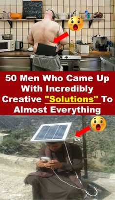 """#50 #Men #Who #CameUp With #Incredibly #Creative """" #Solutions """" To #Almost #Everything #omg #amazing Funny Memes, Hilarious, Everything, Life Hacks, Learning, Amazing, Creative, Projects, Diy"""